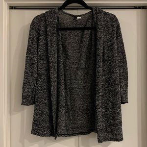 H&M Divided Gray S Cardigan Long Sleeve